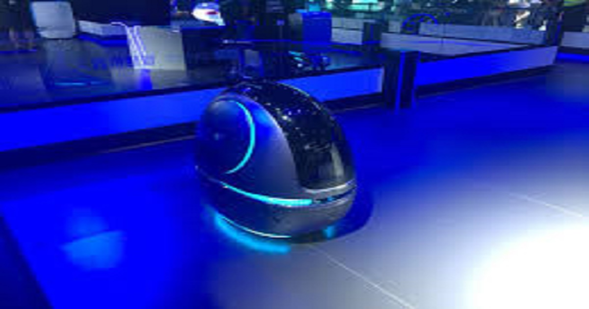 Chinese e-commerce giant Alibaba has built a robot porter for hotels called Space Egg