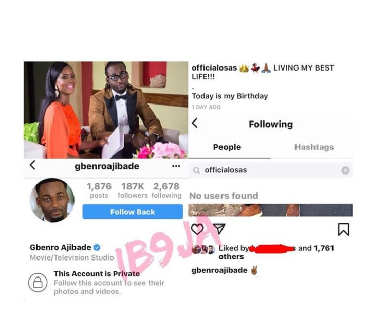 ARE CELEBRITY ACTORS, OSAS IGHODARO AJIBADE AND GBENRO AJIBADE FINALLY OVER?