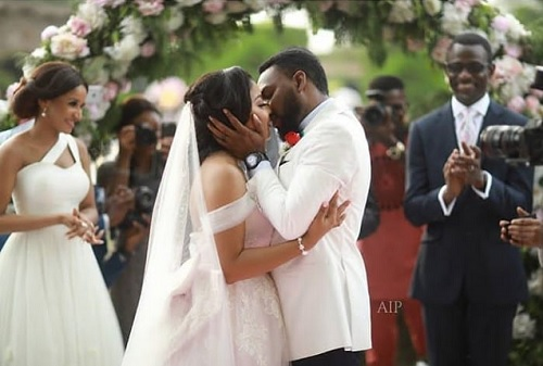 Linda Ejiofor finally weds her onscreen heartthrob from Tinsel, Ibrahim Suleiman