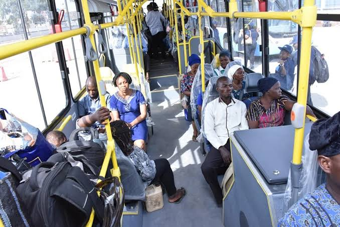 Lagos  Launches New Buses with Free Wi-Fi,cctv camera,and USB port for charging.