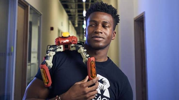 Exclusive :Silas Adekunle, has become the highest paid in the field of robotic engineering.
